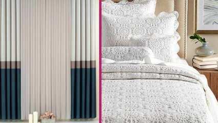 Tekstil alışverişinde bilinmesi gerekenler! Ev tekstili trendleri 2020