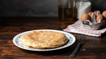 İspanyol omleti tortilla nasıl yapılır? İspanyol omleti tarifi...