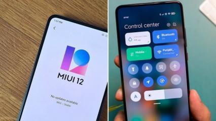 MIUI 12 güncellemesi resmen yayınlandı