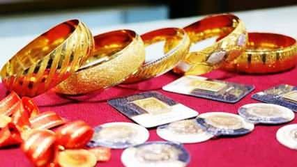 8 Ağustos Altın fiyatları kaç TL oldu? | Gram Altın Çeyrek Altın Bilezik alış satış fiyatı