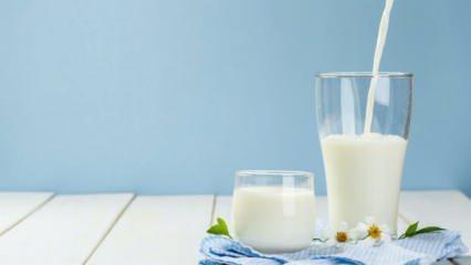Yüksek tansiyona ne iyi gelir? Süt yüksek tansiyonu düşürür mü?