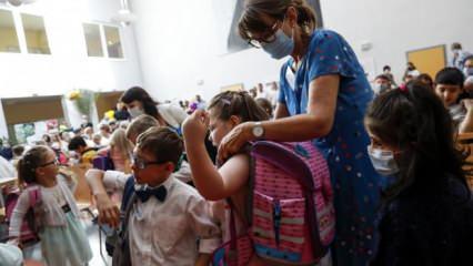 Almanya'da okullar açılıyor! Bugün 153 bin öğrenci ders başı yaptı