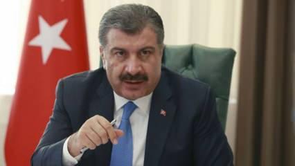 Bakan Koca, DSÖ Genel Direktörü'nün meydan okumasını kabul etti