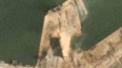 Beyrut'taki patlamada oluşan kraterin uydu görüntüleri paylaşıldı
