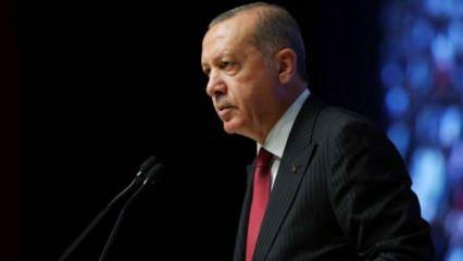 Erdoğan 'Maalesef yanlış yapıyoruz' deyip vatandaşları uyardı
