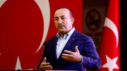 Dışişleri Bakanı Çavuşoğlu Yunanistan'a çok sert tepki: Sahada da masada da göstereceğiz!