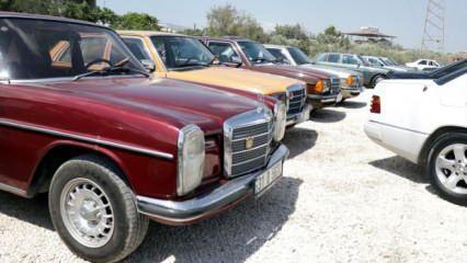 Mercedes tutkunları Hatay'da buluştu