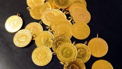 Altının gram fiyatı, 484 liradan işlem görüyor