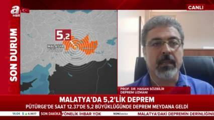 Prof. Dr. Hasan Sözbilir Malatya depremi sonrası olası İstanbul depremi için uyardı