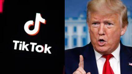 Trump, TikTok için tarih verdi