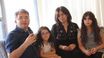 Türk aileler Beyrut'taki şiddetli patlamada yaşadıklarını anlattı