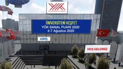 YÖK Sanal fuarı 2020: Üniversiteni keşfet YÖK sanal fuarı nedir, nasıl kullanılır?