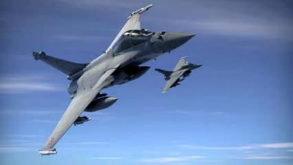 Fransız savaş uçakları Doğu Akdeniz'e indi