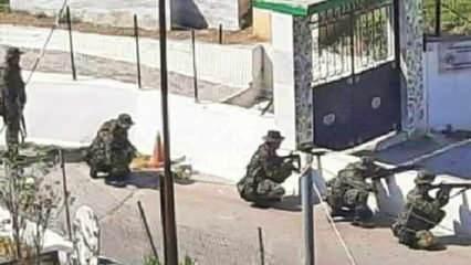 Atina'dan tahrik: Türk köyüne asker gönderdi