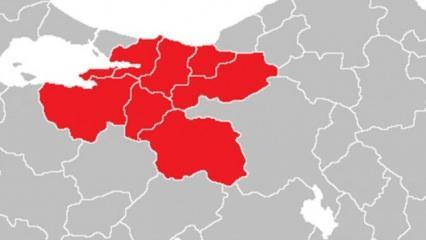 Bakanlık bölge bölge haritada açıkladı! Korona vaka sayısında 'eksi 80' detayı