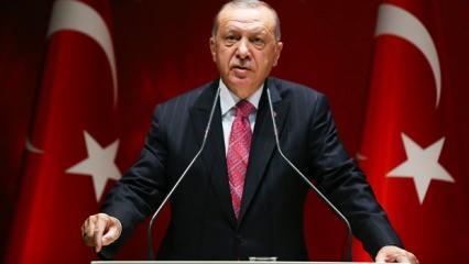 Erdoğan'dan Doğu Akdeniz'de Oruç Reis resti! 'AB'yi de uyarıyorum'