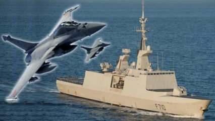 Fransa, Doğu Akdeniz'e savaş uçağı ve fırkateyn gönderdi