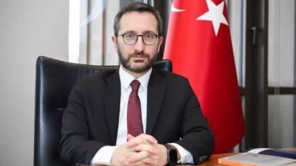 İletişim Başkanı Altun'dan İsrail-BAE anlaşmasına sert tepki