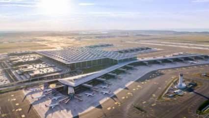 İstanbul Havalimanı'ndan büyük başarı: Dünyada bir ilk oldu