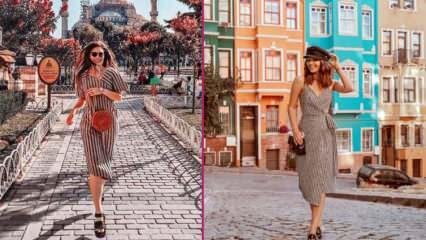 İstanbul'u gezerken uygulayabileceğiniz şık ve rahat kombinler