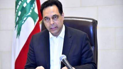 Lübnan Başbakanı Diyab'dan istifa sonrası ilk açıklama