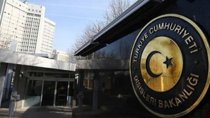 Türkiye'den Fransa'ya sert tepki