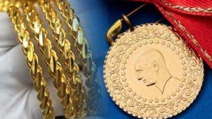 22 Ağustos Altın fiyatları dalgalanma sürüyor |Çeyrek Altın Gram Altın alış satış fiyatı