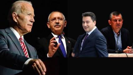 Biden Türkiye'yi hedef aldı, 'destekliyoruz' dediği muhalefet koro halinde 7 aya takıldı