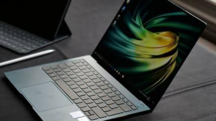 Dünyada ilk kez Huawei Matebook X 2020'de kullanıldı