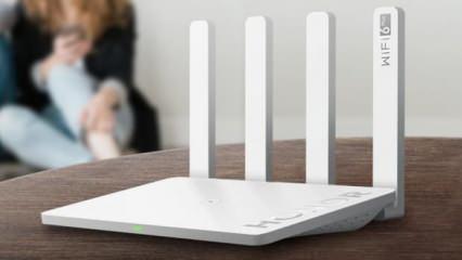 Honor'dan dünyanın ilk Wi-Fi 6 modemi: Honor Router 3