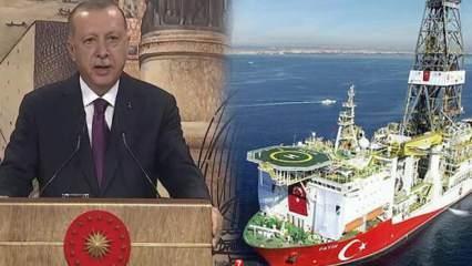 Doğalgaz Karadeniz'de ne zaman çıkarılacak? Cumhurbaşkanı Erdoğan tarihi açıkladı!