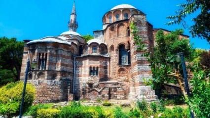 Kariye Camii nerede ve Kariye Camii'sine nasıl gidilir? Kariye Camii tarihi