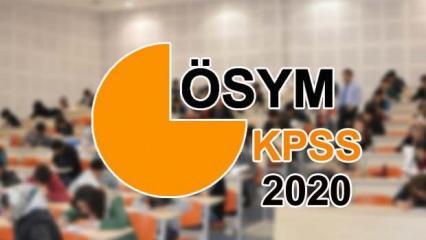 KPSS ortaöğretim ve önlisans başvuruları ne zaman? ÖSYM 2020 başvuru takvimi açıklandı!