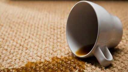 Kurumuş çay lekesi nasıl çıkar? Karbonatla çay lekesi nasıl temizlenir?