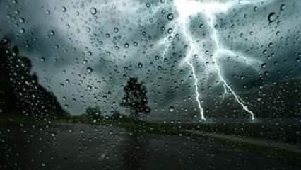 Meteoroloji'den uyarı üstüne uyarı! Turuncu alarm