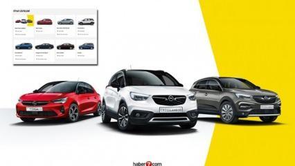 Opel 0,69 faizli 120 bin TL kredi sunuyor! İşte yeni Crossland X Corsa Astra güncel fiyatları