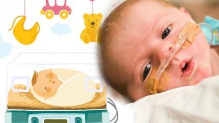 Prematüre bebek nedir? Kaç haftalık bebek prematüre olur? Prematüre bebek özellikleri