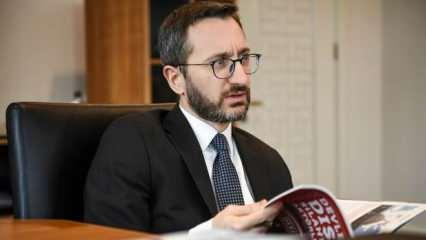 Son dakika: Fahrettin Altun'dan 'müjde' açıklaması