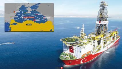 Tuna-1 kuyusu nerede? Doğalgaz Karadeniz'de nerede kaç metreküp bulundu?