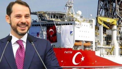 Bakan Albayrak, 'bu daha başlangıç' deyip duyurdu: Akdeniz'de de olumlu gelişmeler olacak