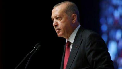 Cumhurbaşkanı Erdoğan'dan genç voleybolculara tebrik