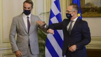 Almanya, Türkiye'ye karşı Yunanistan'ı desteklediğini açıkladı