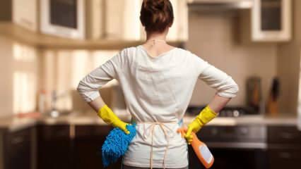 Salı günü ev temizliğini kolaylaştıran 5 pratik bilgi...