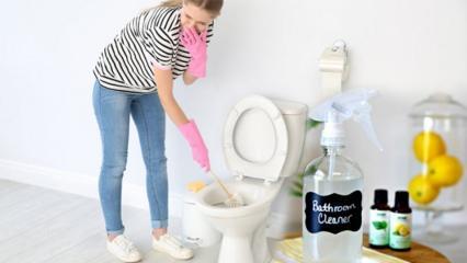 Evde tuvalet spreyi nasıl yapılır? Doğal tuvalet temizleyici yapmanın püf noktaları
