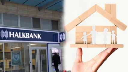 HalkBank 0,99 oranları ile Konut Kredisi veriyor! Konut Kredisi başvuru ekranı