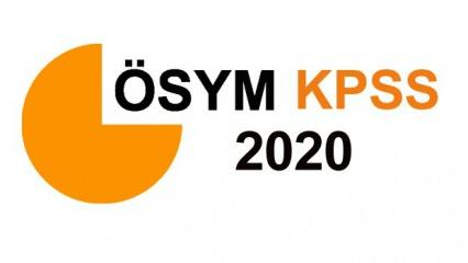KPSS sınav giriş belgesi alma: 2020 KPSS Lisans sınav yerleri erişime açıldı! (ÖSYM)