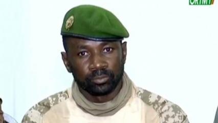Mali'de darbeci askerlerin lideri 'Cumhurbaşkanı' ilan edildi