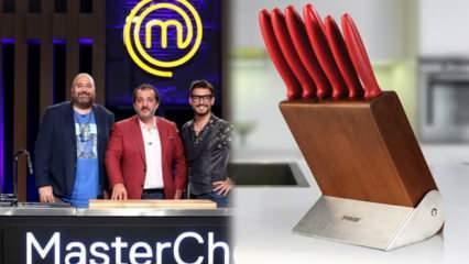 Masterchef'te kullanılan bıçaklar! Pirge Ecco bıçak setleri 2020