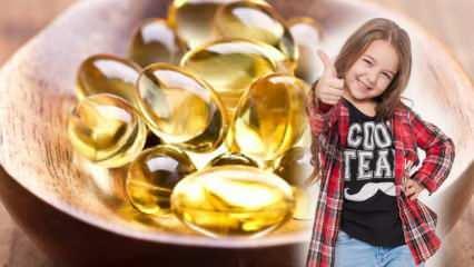 Omega-3 içeren besinler! Balık yağı nedir, ne işe yarar? Çocuklarda balık yağının faydaları