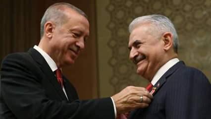 Başkan Erdoğan'dan Binali Yıldırım ve eşine 'geçmiş olsun' mesajı